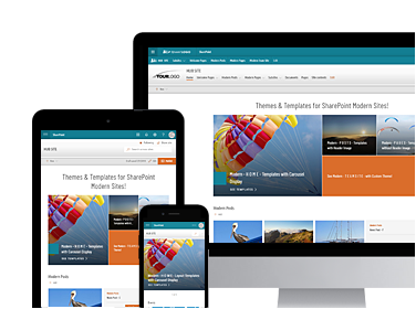 Modern Themes and Intranet Templates for SharePoint Online